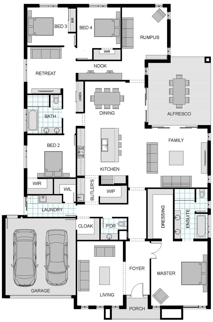 Floorplan like the kitchen pantry butlers layout. Liz