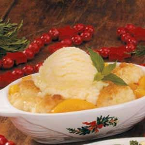 Individual Peach Cobbler Recipe | Taste of Home Recipes