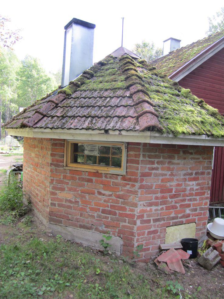 Vanhan talon tiilikatto
