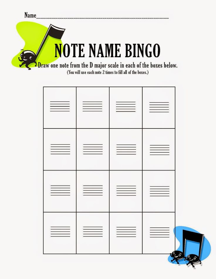 Review game for your orchestra, band, choir, or music class to help reinforce note reading.