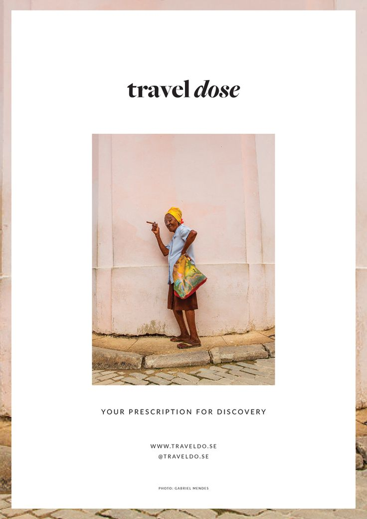 Travel Dose Branding Design: Bjorg Studios www.bjorgstudios.com