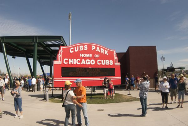 Chicago Cubs spring training info