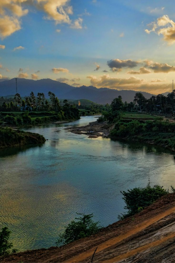 The view from The Pub with Cold Beer in Phong Nha, Vietnam. A place not to miss.  #vietnam #travelvietnam #phongnha #beer