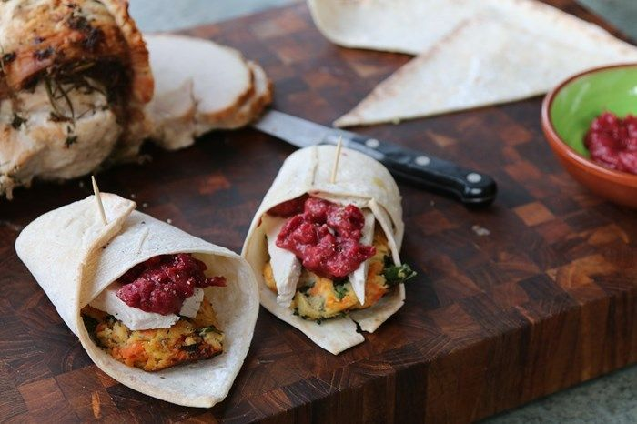 Boxing Day 'Left-overs' Gluten Free Wrap | Lucy Bee Coconut Oil