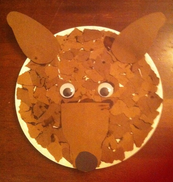 Little Red Riding Hood Wolf Craft