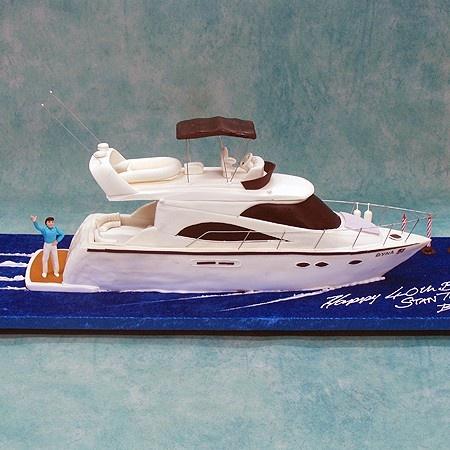 Best Boat Cakes Images On Pinterest Boat Cake Nautical Cake - Boat birthday cake ideas