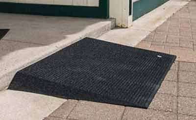 ADA Rubber Threshold Ramps for Business or Homes.