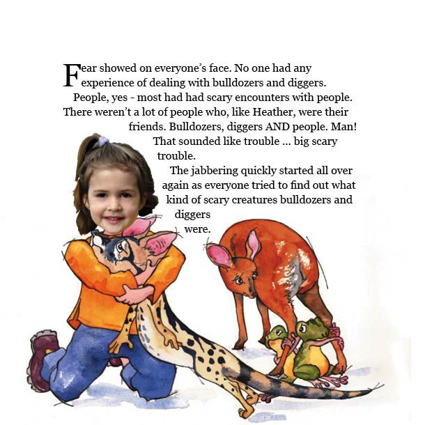 Bashing the Bundu: Personalized storybook designed to educate kids about protecting our fynbos