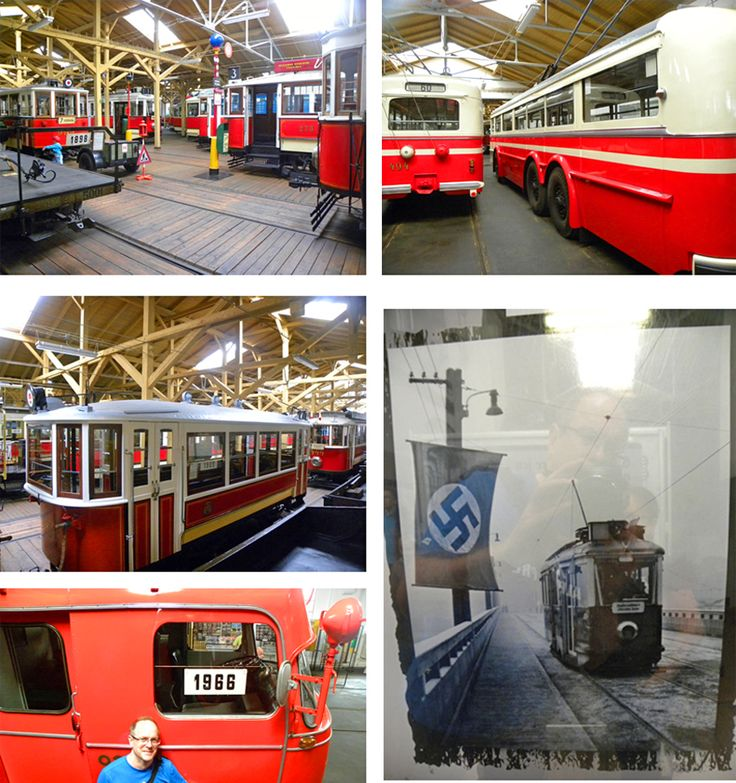 Prague transport museum