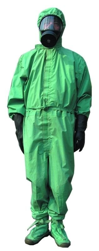 Chinese Military PLA Chemical Protective Suit FFY03