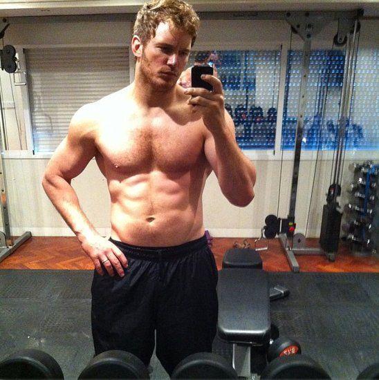 Chris Pratt Shirtless Photos