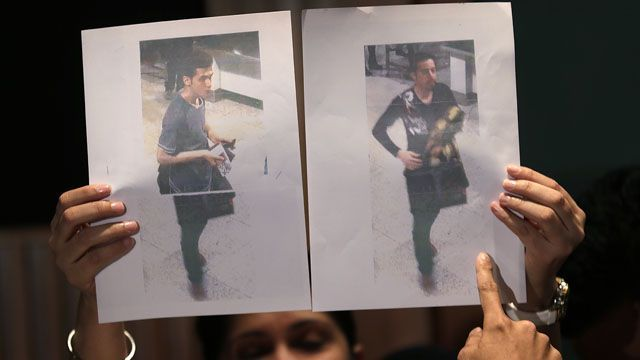 Iranian asylum-seekers used stolen passports on Malaysia Airlines flight (The plot continues to thicken... The legs in the firs photograph do not match.)
