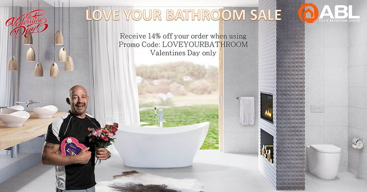 Renovating or making some changes? Receive 14% off your order on #ValentinesDay using LOVEYOURBATHROOM at the checkout #bathroom #sale 