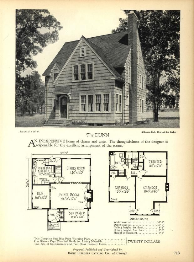 257 best house plans 1900 1930s images on pinterest for House plans 1900