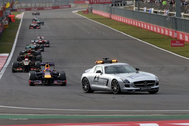 Safety Car at the Korean F1 Grand Prix 2013