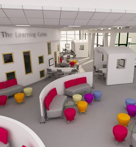 (5) flexible learning environments - Google Search | Elementary School Libraries - Furniture & Design | Pinterest