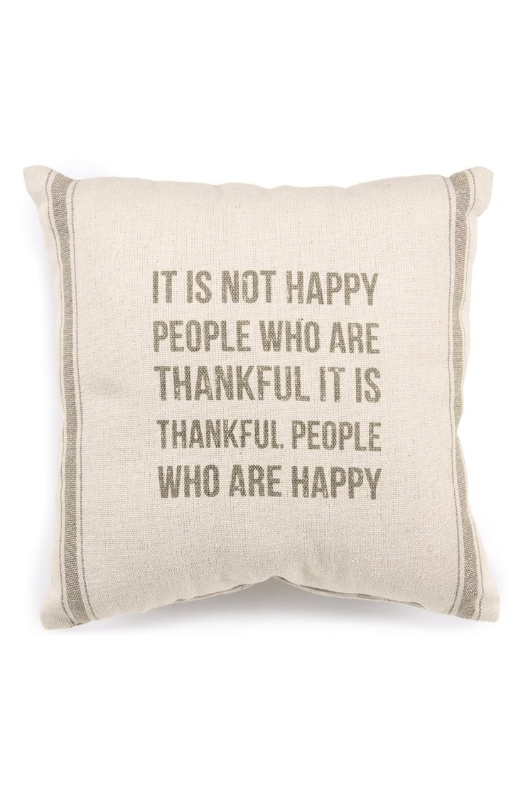 """""""It's not happy people who are thankful, it is thankful people who are happy."""" Great quote."""