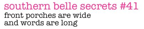 southern belle secret #41