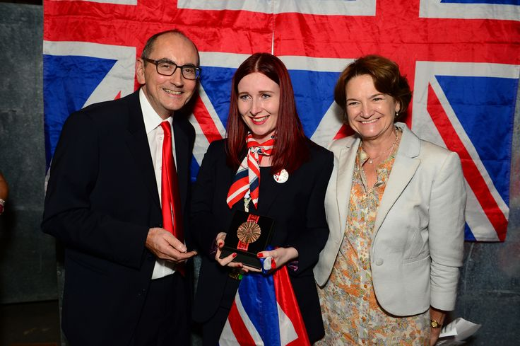 Robyn Clarke - awarded the Medal of Excellence for Mechatronics