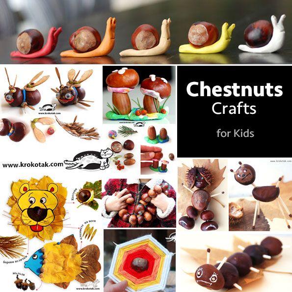 Chestnuts Crafts for kids