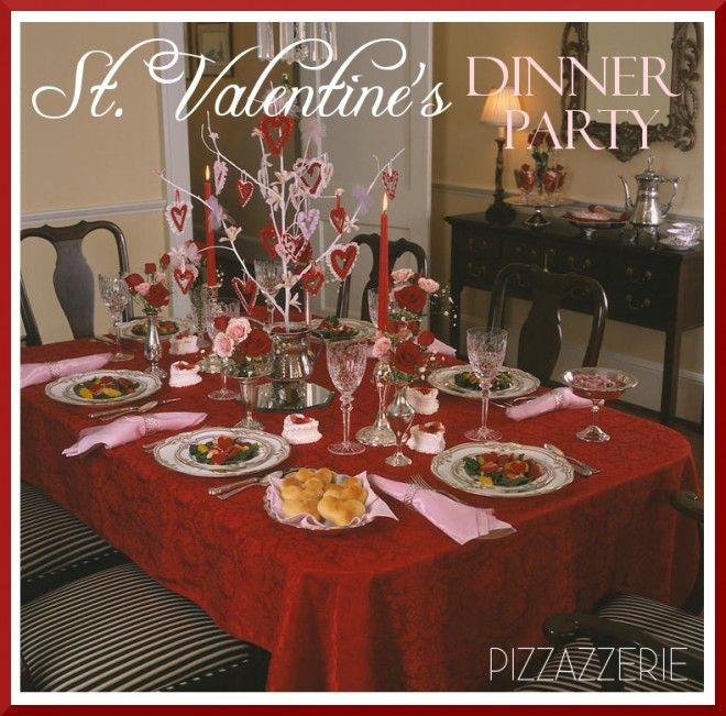 Valentine Dinner Party Ideas Part - 37: Valentineu0027s Day Dinner Party
