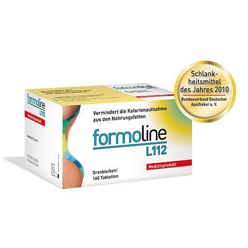 FORMOLINE L112 dranbleiben Tabletten - Medizinprodukt im Rahmen der Behandlung von Übergewicht und zur Gewichtskontrolle und zur Verminderung erhöhter Cholesterin- und LDL-Werte.