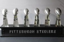 The Pittsburgh Steelers have played in eight Super Bowls (tied with Dallas for the most), winning six of them (the most in the NFL), including four in six years.