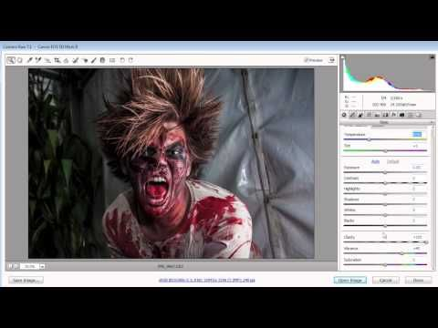 #Halloween photography tip! Exclusively on AdoramaTV: Gavin Hoey shows you how to take great portraits of zombies