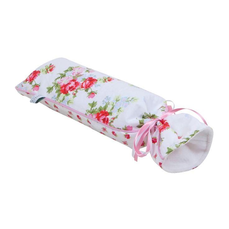 Little Dutch kruikenzak wit met roosjes uit de online shop van Babyaccessoires.eu. In allerlei kleuren en prints.
