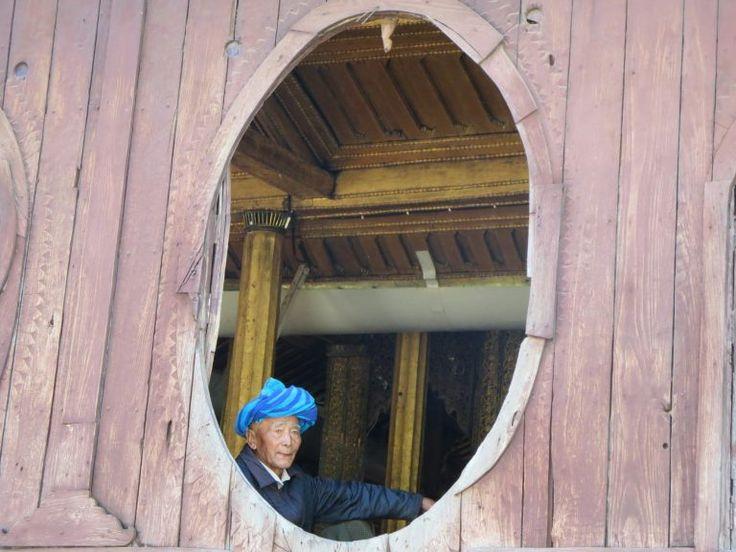 Shwe Yan Pyay Kloster – Von den Stimmen der Mönche erfüllt  Shwe Yan Pyay Monastery, Inle Lake, Myanmar