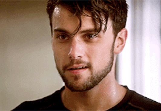 On the show he says stuff like this and your forget how to breathe. | 18 Times Jack Falahee Mystified Us With His Perfection