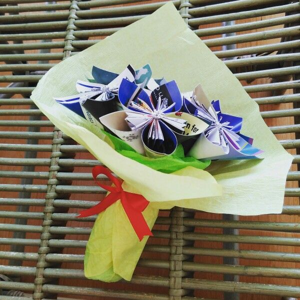 Mother's day 22.12.2015 #magazineflower #diyproject #craft
