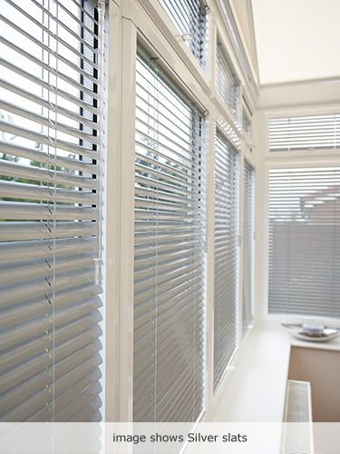 Taupe Perfect Fit Venetian Blind - 25mm Slat from conservatory blinds 2go