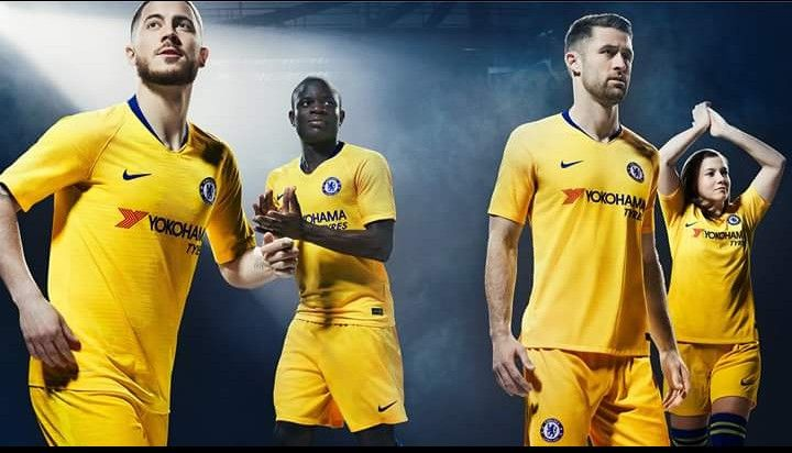 newest cf138 a871d The new CFC Away Kit for 2018/19 EPL season 🔹CFC 🔹EPL ...