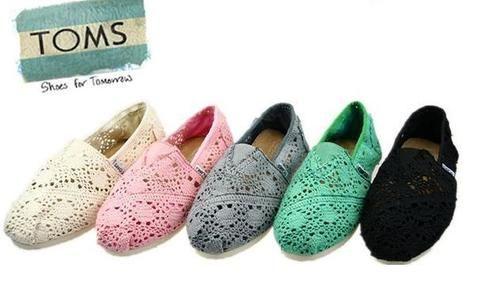 Tom's Women's Crochet Classics $58: Lace Tom, Fashion, Mint Green, Style, Crochet Toms, Tom Crochet, Tom Shoes, Bridesmaid Shoes, Dreams Closets