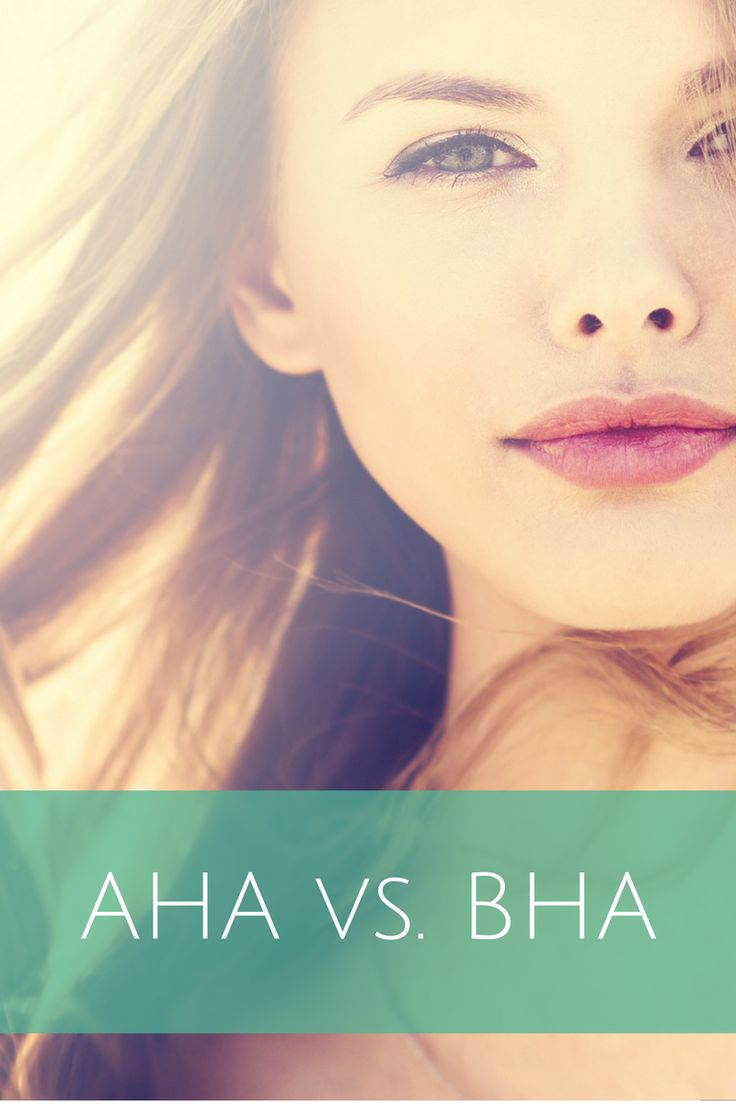 Alpha or Beta hydroxy acids: What is right for your skin? #aha #bha