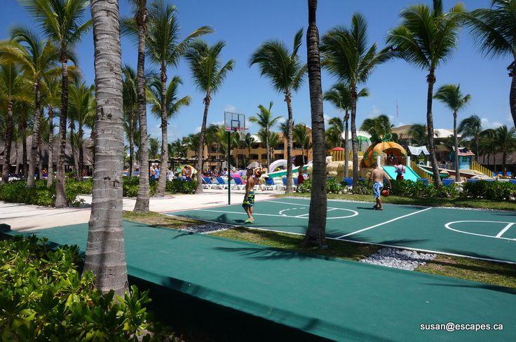 Hoops at  Barcelo Maya Palace Deluxe in Riviera Maya