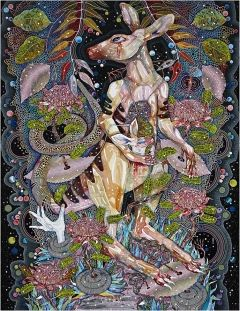 Archibald Prize winner Del Kathryn Barton's recent works as limited-edition giclee prints celebrating a magical place