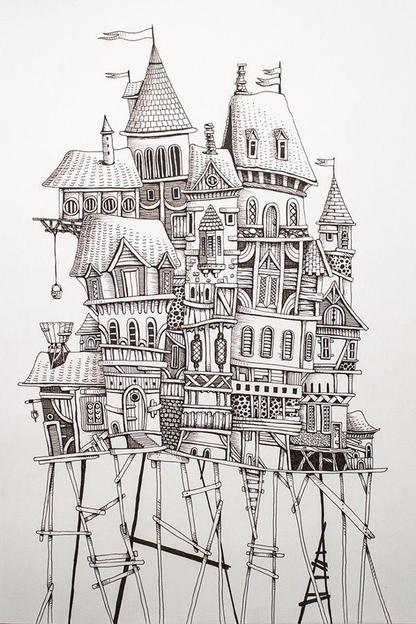 Castle on stilts