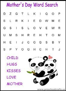 23 best Free Printable Mother's Day Worksheets for Kids images on ...