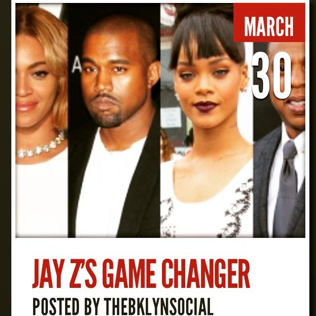 Jay Z just changed the game with a single tweet!  See his latest venture at theBklynSocial dot com (full link in the bio)  #MJ at #SummerJam, #Obama on the text, you should be afraid what #JayZ gon' do next! See all of the celebs who joined his 30 second marketing video: #Kanye #KanyeWest #Yeezy #Yeezus #beyonce #beyandjay #beehive #beyhive #queenbey #mrscarter #Rihanna #riri #rihannasnavy #mrcarter #seancarter #tidal #TIDALforALL #nickiminaj #madonna #daftpunk #chrismartin #coldplay #usher…