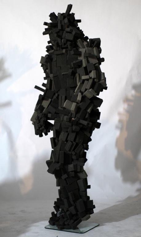 """Saatchi Online Artist: Simon Birch; Sculpture, 2010, Installation """"Deckard"""""""