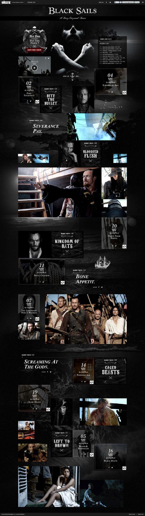 Black Sails on Web Design Served