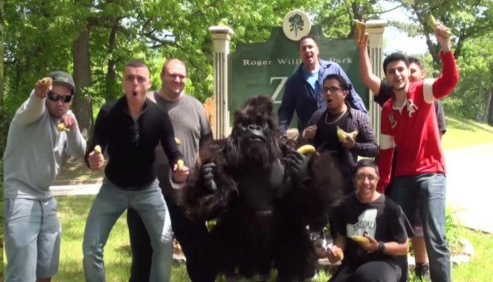 Funny Classic Gorilla In Real LIfe Prank