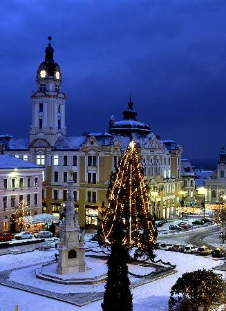 Pecs, Hungary. Puzza's place :D...  We went in the winter too.... so pretty