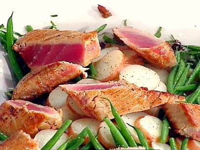 Pan-Seared Albacore Tuna Loin