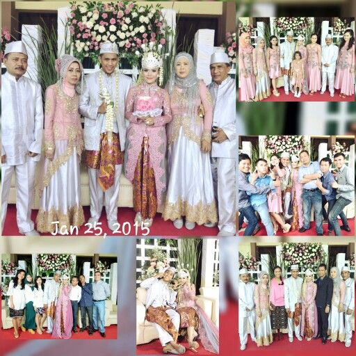 Our love, our wedding, our journey, our lovely family ...  #traditionalwedding #sundanessetouch #pinky #indonesian #westjava #love