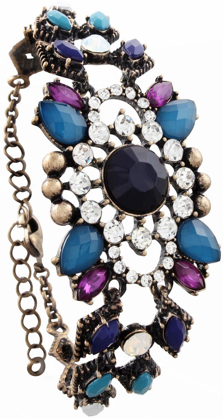 armband strassbl te bijou brigitte online shop secret treasures bijou love bracelets a. Black Bedroom Furniture Sets. Home Design Ideas