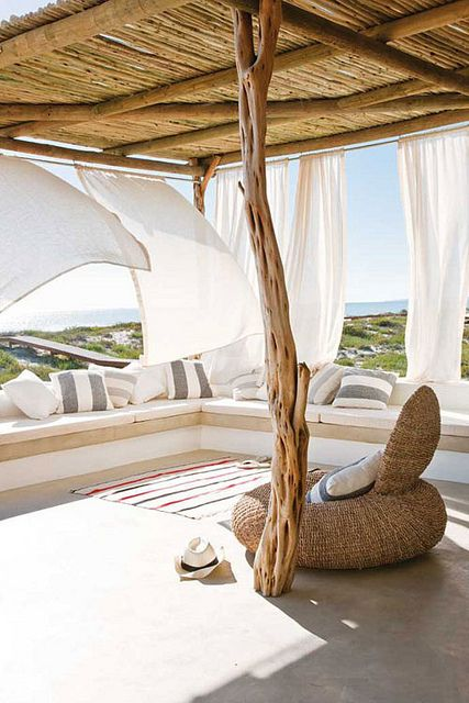 life at a south african beach house