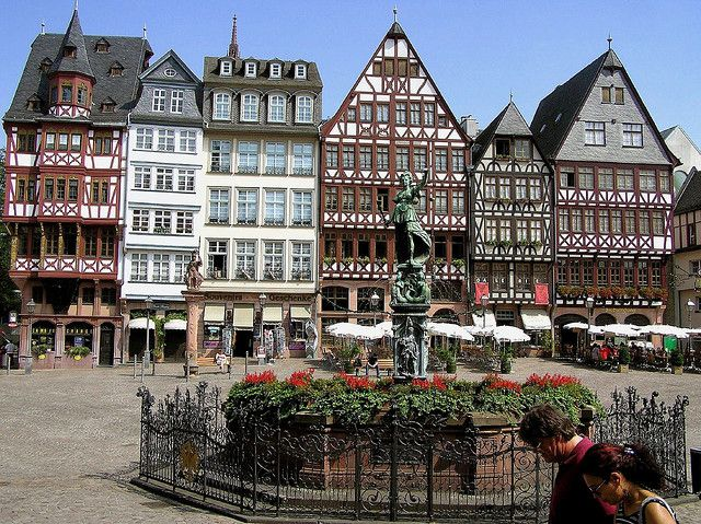 Frankfurt, Germany. So excited for September!